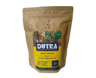 Café Torrado em Grãos, Bourbon Amarelo - Café Dutra Microlotes - Torrado em Grãos 250g
