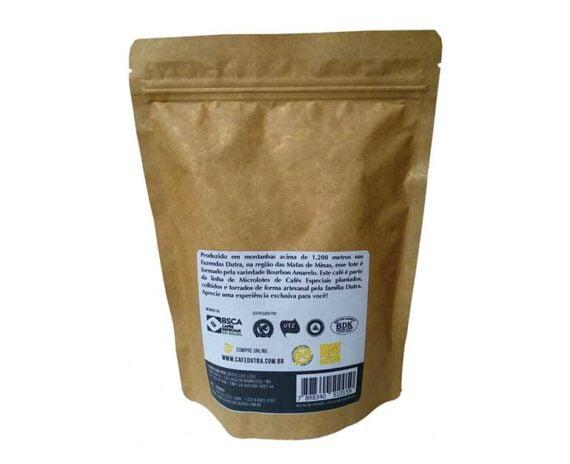Bourbon Amarelo - Café Dutra Microlotes - Torrado em Grãos 250g