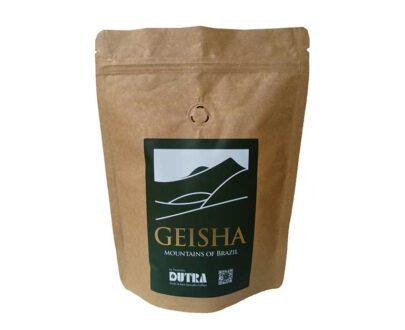Geisha - Café Dutra Raro e Exótico - Torrado em Grãos 250g