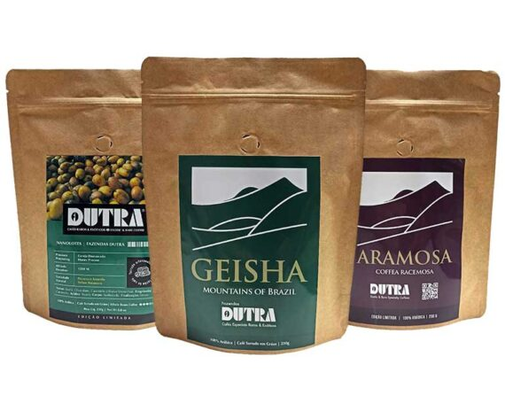 Geisha, Pacamara, Aramosa